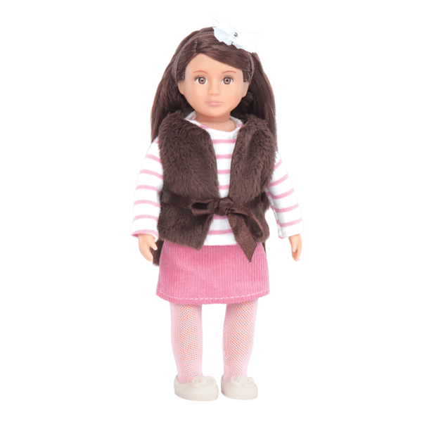 """Our Generation 18/"""" Sienna Doll Brown Hair /& Eyes Fits American Girl Ships fast!"""